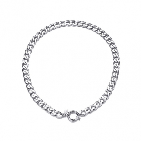 Big chain necklace - silver